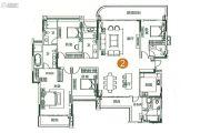 奥园莲峰圣境5室2厅5卫275平方米户型图