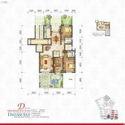 丽汤・首山梦之湾3室2厅2卫151平方米户型图