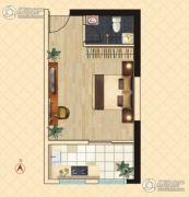 东鑫中央公园1室1厅1卫36--45平方米户型图