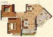 恒大金碧天下0室0厅0卫0平方米户型图