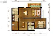 隆鑫十里画卷3室2厅3卫145平方米户型图