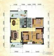 冠亚・国际星城2室2厅2卫101平方米户型图