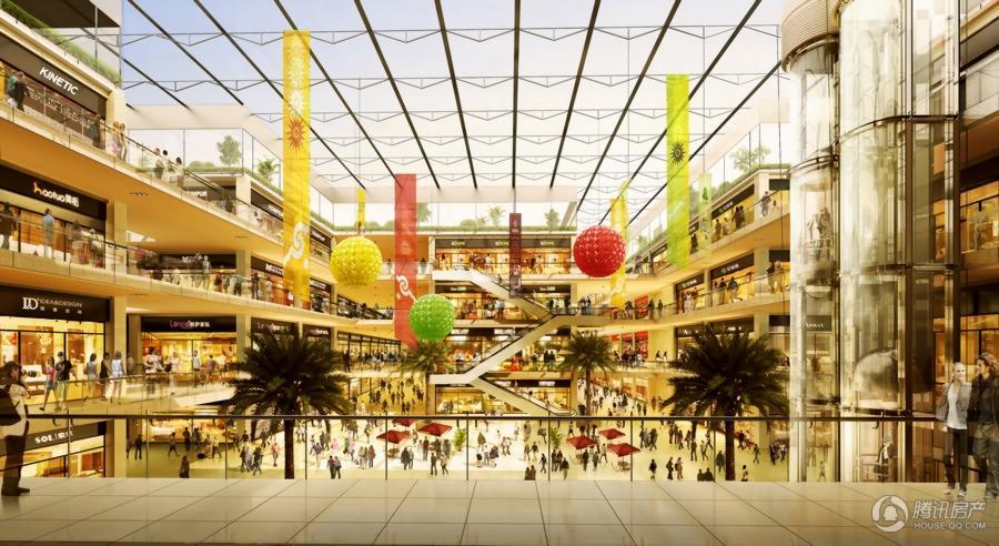 香江全球家居CBD室内效果图
