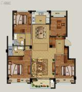 祥生云浦新语4室2厅0卫118平方米户型图