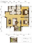 乐古浪成都0室0厅0卫79平方米户型图