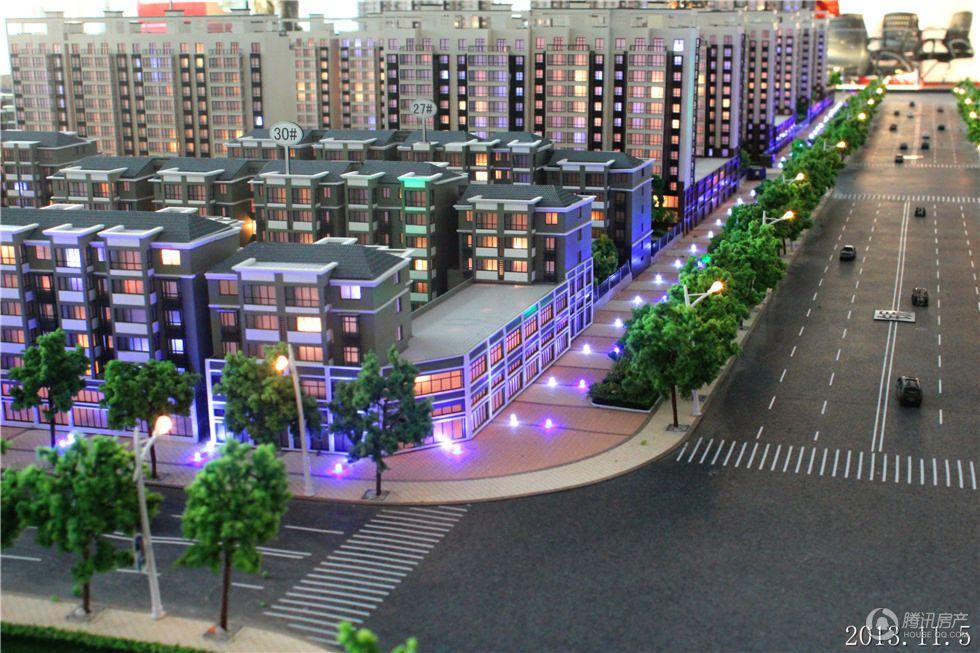奥体国际星城实景图