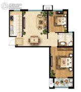 鑫苑・鑫中心2室1厅1卫0平方米户型图