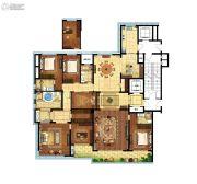 江湾城二期5室2厅3卫325平方米户型图