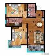 华普城2室2厅1卫89平方米户型图