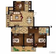 汇金锦园4室2厅2卫0平方米户型图