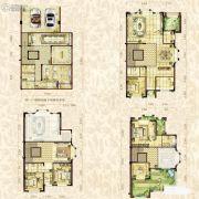 金辉城江城著4室2厅3卫378平方米户型图