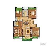 碧桂园仙林东郡4室2厅2卫122平方米户型图