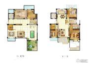苏宁天御广场5室4厅3卫249平方米户型图