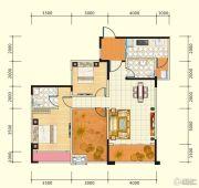 中盛・财富中心3室2厅2卫103平方米户型图