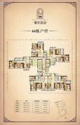 御景豪园3室2厅2卫75--127平方米户型图