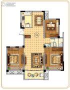 世纪凤凰城3室2厅1卫115平方米户型图