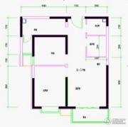 上上城青年社区二期2室0厅0卫83平方米户型图