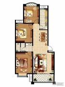 齐鲁涧桥3室2厅1卫118平方米户型图