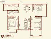 紫薇壹�・西韵3室2厅0卫112平方米户型图