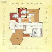 东方威尼斯澜庭3室2厅2卫188平方米户型图
