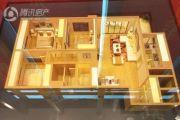万科城3室1厅1卫0平方米户型图