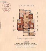 幸福名苑3室2厅2卫123平方米户型图