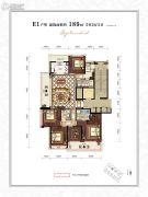 滨江・锦绣之城5室2厅3卫189平方米户型图