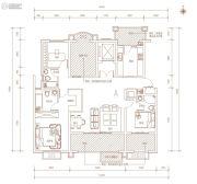 金凤・天山熙湖3室2厅2卫143平方米户型图