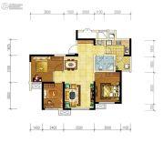 华润国际社区3室2厅1卫79平方米户型图