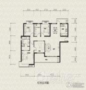 保利温泉新城4室2厅2卫0平方米户型图