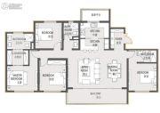 财信・铂悦府4室2厅3卫0平方米户型图