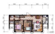 东港第2室2厅1卫86平方米户型图