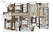 凯德山海连城4室2厅3卫181平方米户型图