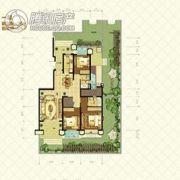 恒大山水城4室3厅3卫148平方米户型图