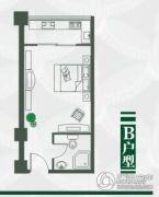 金屏苑1室0厅1卫40--70平方米户型图