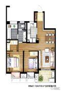 信义嘉庭3室1厅1卫0平方米户型图