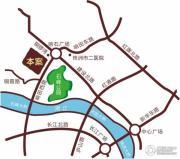 香博堡・国际交通图