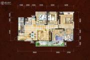 四川煤田光华之心4室2厅2卫142平方米户型图