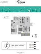 东润城3室2厅2卫112平方米户型图