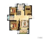 华润国际社区3室2厅1卫120平方米户型图