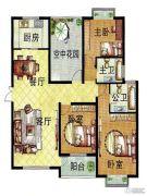 百合金山4室2厅2卫130--128平方米户型图