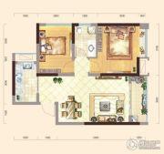 弘洋・拉菲庄园2室2厅1卫68平方米户型图