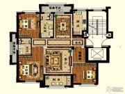 长峙岛・香芸园3室2厅2卫128平方米户型图