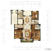 和成七星大观4室2厅3卫168--174平方米户型图