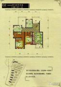 御龙仙语湾3室2厅1卫126平方米户型图