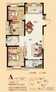 合肥铜冠花园3室2厅1卫106平方米户型图