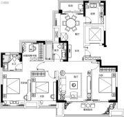 融侨观澜4室2厅2卫135平方米户型图