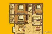 建华新园3室2厅2卫0平方米户型图