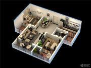 荣昌绿园2室1厅1卫0平方米户型图