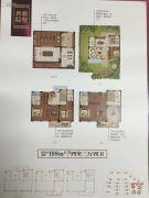 德信・元湖一号4室3厅4卫198平方米户型图